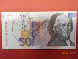 SLOVENIA 50 T 1992 (VF) S/N TE560650 - Slovenia