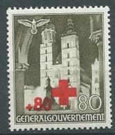 Pologne  Gouvernement Général - Yvert N° 71 *  -  Bce 19103 - 1939-44: 2. WK