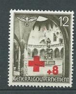Pologne  Gouvernement Général - Yvert N° 68 *  -  Bce 19105 - Gobierno General