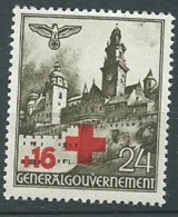 Pologne Gouvernement Général  - Yvert N° 69 *  Bce 19106 - 1939-44: 2. WK