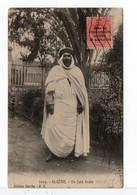 CPA - ALGÉRIE - Un Caïd Arabe - Timbre Du Maroc Espagnol - Men