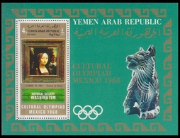 1969Yemen (Arab R. YAR )1004/B1111968 Olympic Mexico15,00 € - Summer 1968: Mexico City