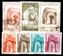 Siria-00091 - Valori Del 1961-62 (++/o) MNH/Used - Senza Difetti Occulti. - Siria