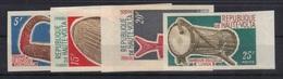 Haute-Volta 1971 Yvert 234/37 Non Dentelés Neufs** MNH (2) (97) - Upper Volta (1958-1984)