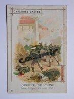 B0066b - Chromo Chicorée - GUERRE DE CHINE PRISE D'AIGUN (4 AOUT 1900) - Casiez Bourgeois CAMBRAI Nord - Vieux Papiers