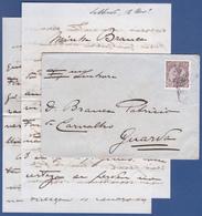 COVER + LETTER - Lisboa Central To Guarda / Cancel - Nov. 1910 - 1910 : D.Manuel II