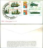 11952A )FDC-serie -   Storia Della Marina 23-9-77 - FDC