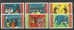 BURKINA FASO 1985 DODO CARNIVAL SET MNH - Burkina Faso (1984-...)