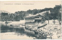 MARSEILLE, L'ESTAQUE - Le Restaurant Mistral - L'Estaque