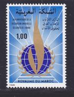 MAROC N°  819 ** MNH Neuf Sans Charnière, TB (D8961) Droits De L'homme - 1978 - Morocco (1956-...)