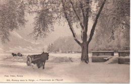 Cpa Annecy Sous La Neige. - Annecy