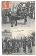 CPA... COGNAC...MI CAREME  1911...GROUPE SYMPATIQUE ..GROUPE D'INDIENS..BE SCAN....1912.. - Cognac