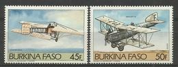 BURKINA FASO 1985 AVIATION,AIRCRAFT MNH - Aerei