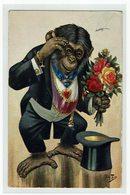 Thiele Ape With Flowers - Thiele, Arthur
