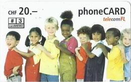 LIECHTENSTEIN - TELECOM FL - CHILDREN - Liechtenstein