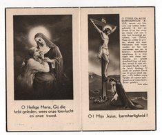 MARIE MERTENS ° HAASDONK 1885 + ELST 1948 / FAM. MERTENS / PASTOOR BOCKSTAL - Images Religieuses