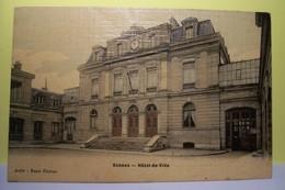 SCEAUX   -- HOTEL De VILLE - ( Carte Tissée ) - Sceaux