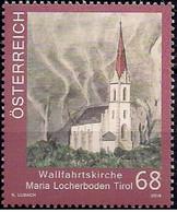 Austria 2016 - Kirchen In Österreich - Maria Locherboden Mnh - 1945-.... 2ª República