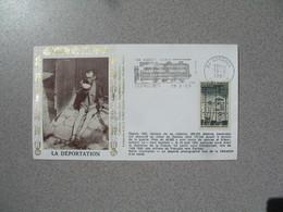 Enveloppe  1991  La Déportation Le Train Fantôme Pour Dachau   Cachet  Vaucluse - Marcophilie (Lettres)