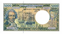 INSTITUT D'EMISSION D'OUTRE MER // Cinq Mille Francs // UNC - Autres - Océanie