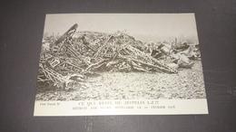 Cpa Ce Qui Reste Du Zeppelin Lz 77 - Guerre 1914-18
