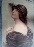 Cpa Fantaisies Femmes - Fancy Cards
