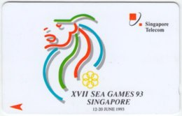 SINGAPORE A-880 Magnetic Telecom - Event, Sea Games - 1SSGA - Used - Singapur