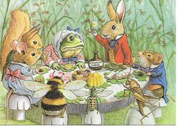 Illustrator  - Racey Helps  -  Champignon, Pilze, Funghi, Frog, Frosch, Maus, Souris, Mouse, Cricket, Lapin  / Modern - Autres Illustrateurs