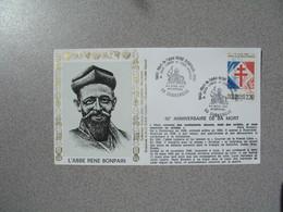 Enveloppe   1993  L'Abbé René Bonpain - Jules Lanery - Louis Herbeaux   Cachet  Dunkerque - Storia Postale