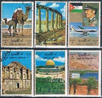 Umm Al Qiwain 1972   -  Michel  1687 / 92  ( Usados ) - Umm Al-Qiwain