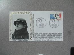 Enveloppe   1994  J. De Lattre De Tassigny  Cinquantenaire De La Libération   Cachet  Belfort - Marcophilie (Lettres)