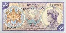 Bhutan 10 Ngultrum, P-15a (1986) - UNC - Bhutan