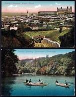 2 OLD CARDS 1900 - SLOVAKIA / BRATISLAVA - PRESSBURG - POZSONY - ALAGUT TUNNEL & EISENBRUNNEL - Slovaquie