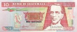 Guatemala 10 Quetzales, P-82 (16.7.1992) - UNC - Guatemala