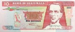 Guatemala 10 Quetzales, P-91 (29.6.1994) - UNC - Guatemala
