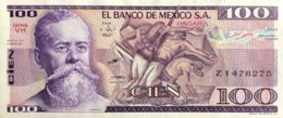 Mexico 100 Pesos, P-74c (25.3.1982) - UNC - Mexico