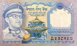 Nepal 1 Rupee, P-22 (1974) - UNC - Sign.9! - Nepal