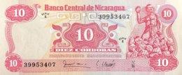Nicaragua 10 Cordobas, P-134 (1979) - UNC - Nicaragua