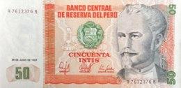 Peru 50 Intis, P-131b (26.6.1987) - UNC - Peru