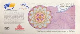 Giesecke & Devrient 10 ECU Expo Sevilla (1992) - UNC - EURO