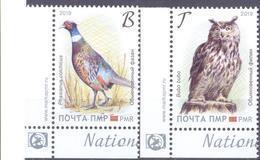 2019. Transnistria, National Birds, 2v, Mint/** - Moldova