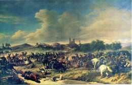 """Cartolina 5° GRUPPO SQUADRONI CARI LANCIERI DI NOVARA """"Battaglia Di Montebello 20 Maggio 1859 - Regiments"""