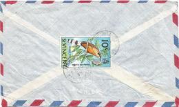 St Vincent 1975 Park Hill Mangrove Cuckoo Coccyzus Minor  Cover - St.-Vincent En De Grenadines