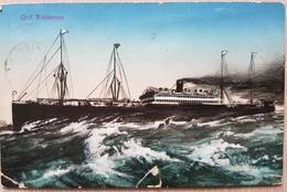Germany Hamburg Altona Graf Waldersee 1912 Failures On The Card - Non Classificati
