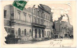 71 CHALON-sur-SAONE - Hotel De Ville - Carte Gaufrée - Chalon Sur Saone