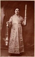 BALTI / MOLDOVA : IERODIACON ILARION TANASE / EPISCOPIA De BALTI - CARTE VRAIE PHOTO / REAL PHOTO : 1930 - RRR ! (ac185) - Moldavie