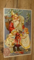 Carte Postale Pere Noel, Santa Claus,  Carte Gaufrée  …... … PHI.......2957 - Santa Claus