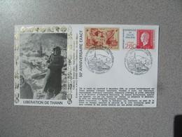 Enveloppe   1994 Libération De Thann  50 ème Anniversaire De La Libération   Cachet  Thann - Marcophilie (Lettres)