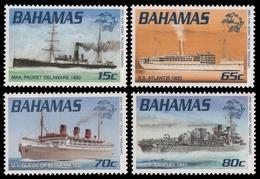 Bahamas 1999 - Mi-Nr. 1008-1011 ** - MNH - Schiffe / Ships - Bahamas (1973-...)