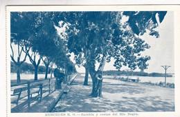 MERCEDES RO. RAMBLA Y COSTAS DEL RIO NEGRO. TELESCA HNOS, URUGUAY. CPA CIRCA 1940s - BLEUP - Uruguay